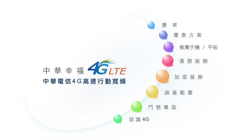 中華電信4G LTE 各種費率總整理 | 懶人包