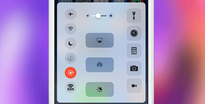 CCVerticaly 將iOS10控制中心功能改為垂直排列顯示