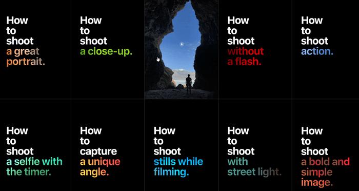 不會iPhone拍攝?Apple 設計了30招iPhone拍攝教學短片告訴你怎麼拍