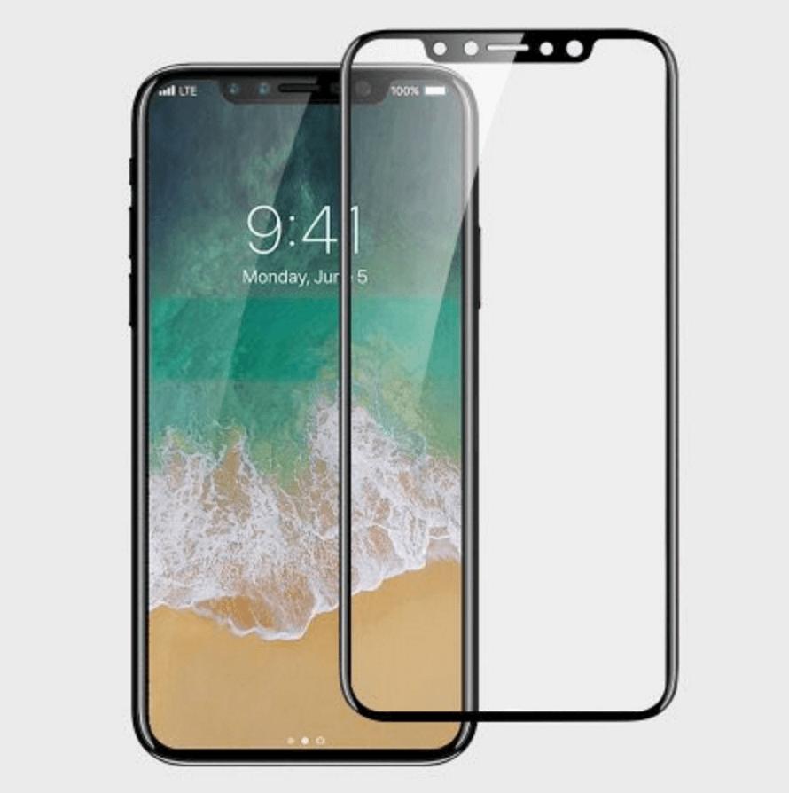 最新 iPhone 8 曲面鋼化玻璃保護貼曝光!U型設計與出現四個洞