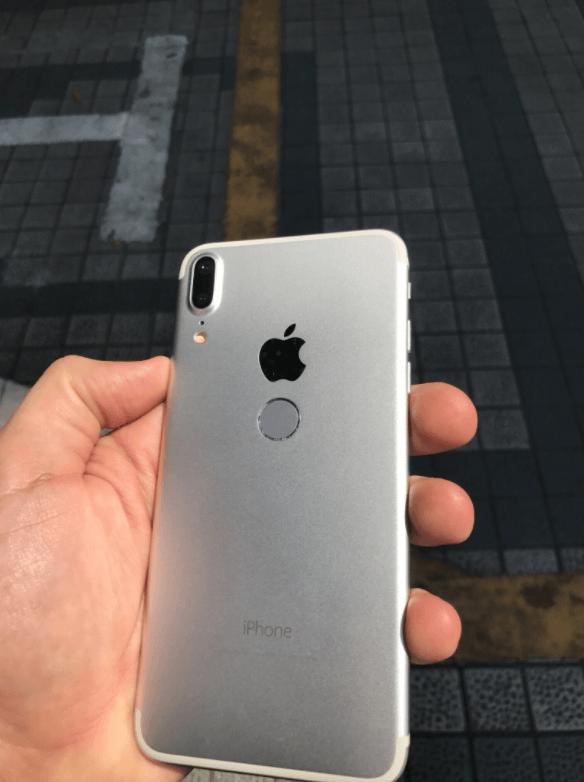 中國流出疑似 iPhone 8 山寨機,Touch ID指紋辨識在後面