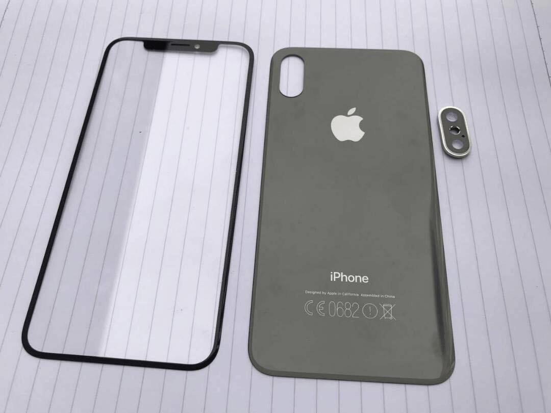 真實 iPhone 8、iPhone 7s 玻璃面板與背板洩密照流出