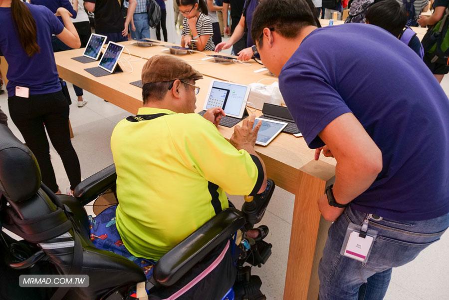 台灣首間台北101蘋果直營店Apple Store開幕人潮活動記錄