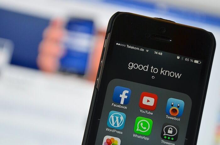 解釋為何臉書FaceBook APP少數人看到的功能選單都會不一樣