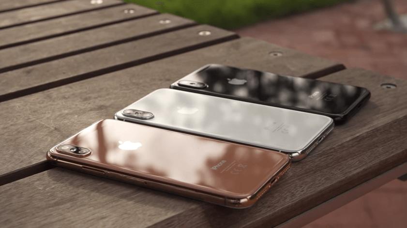 蘋果準備在今年推出 iPhone X 第三款顏色「腮紅金」代號D21A