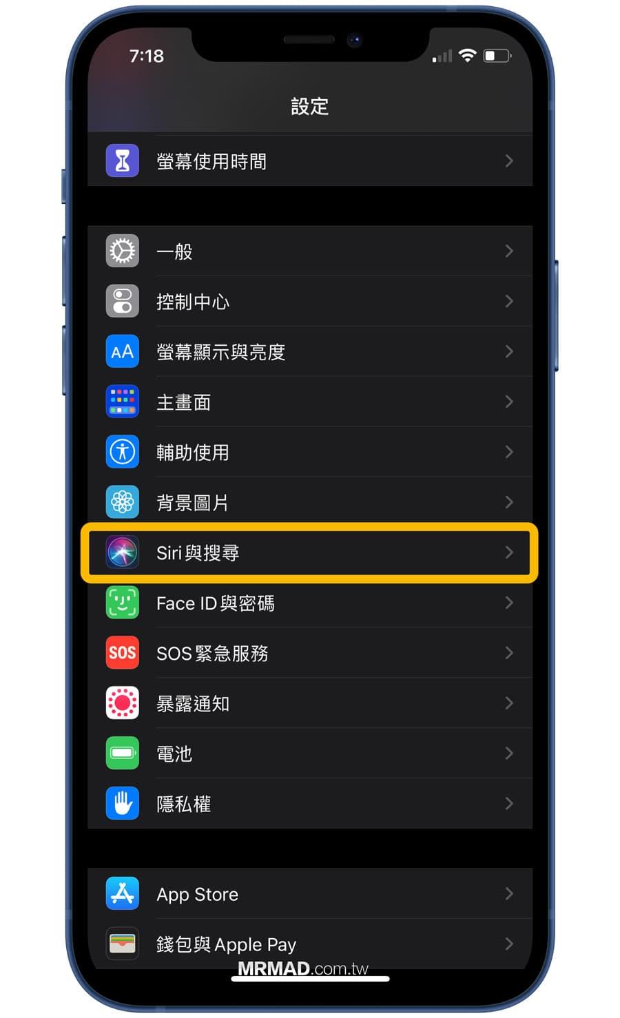 如何啟用 iPhone 來電宣告功能3