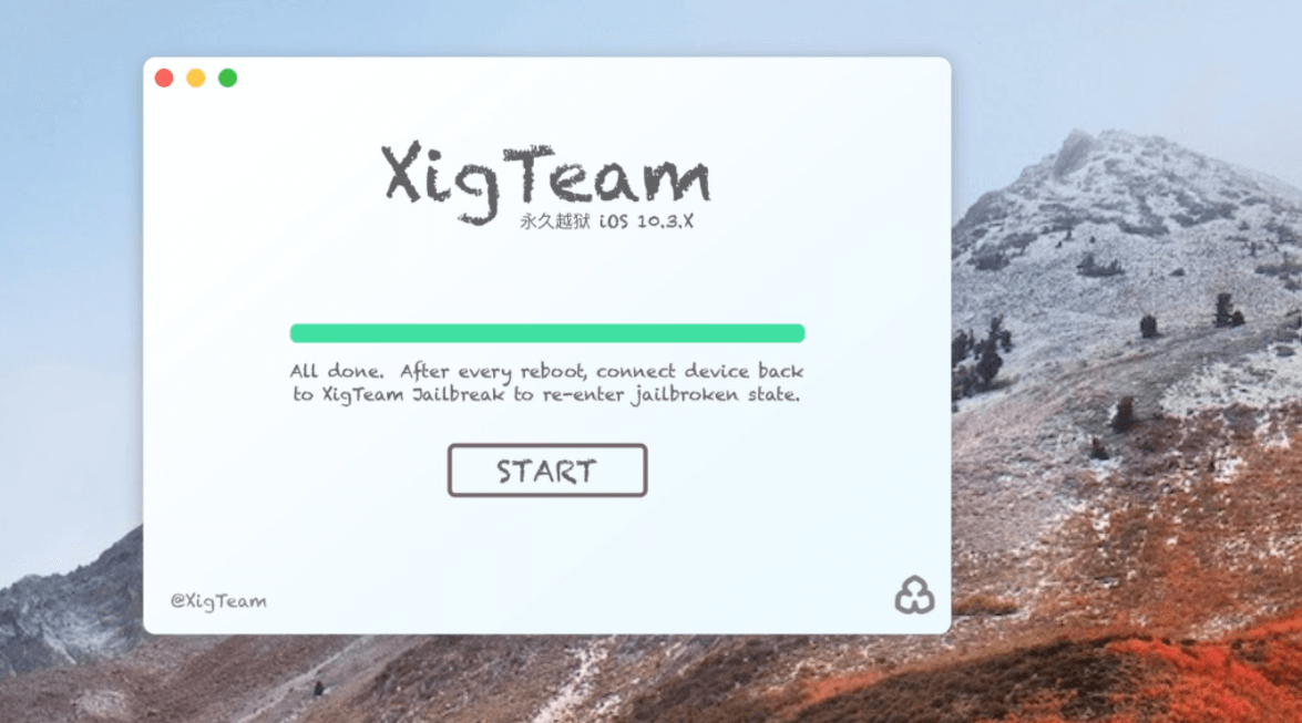 XigTeam 團隊將推出iOS 10.2-10.3.3越獄