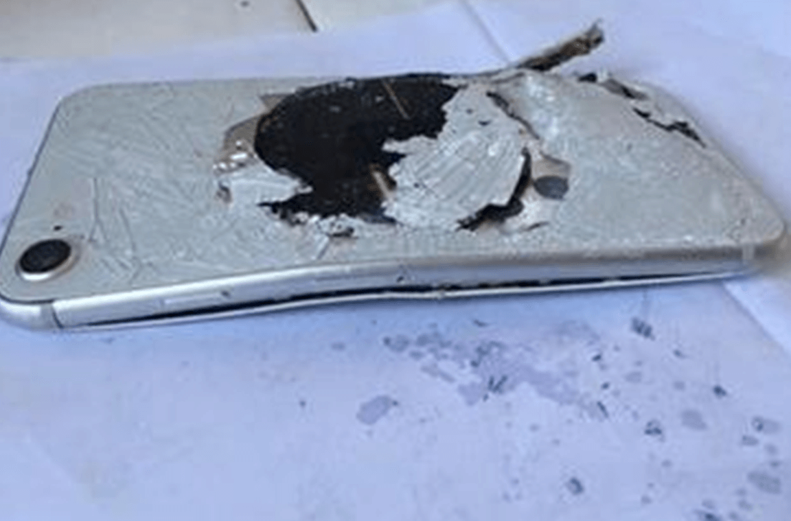 中國 iPhone 8 充電自燃事件