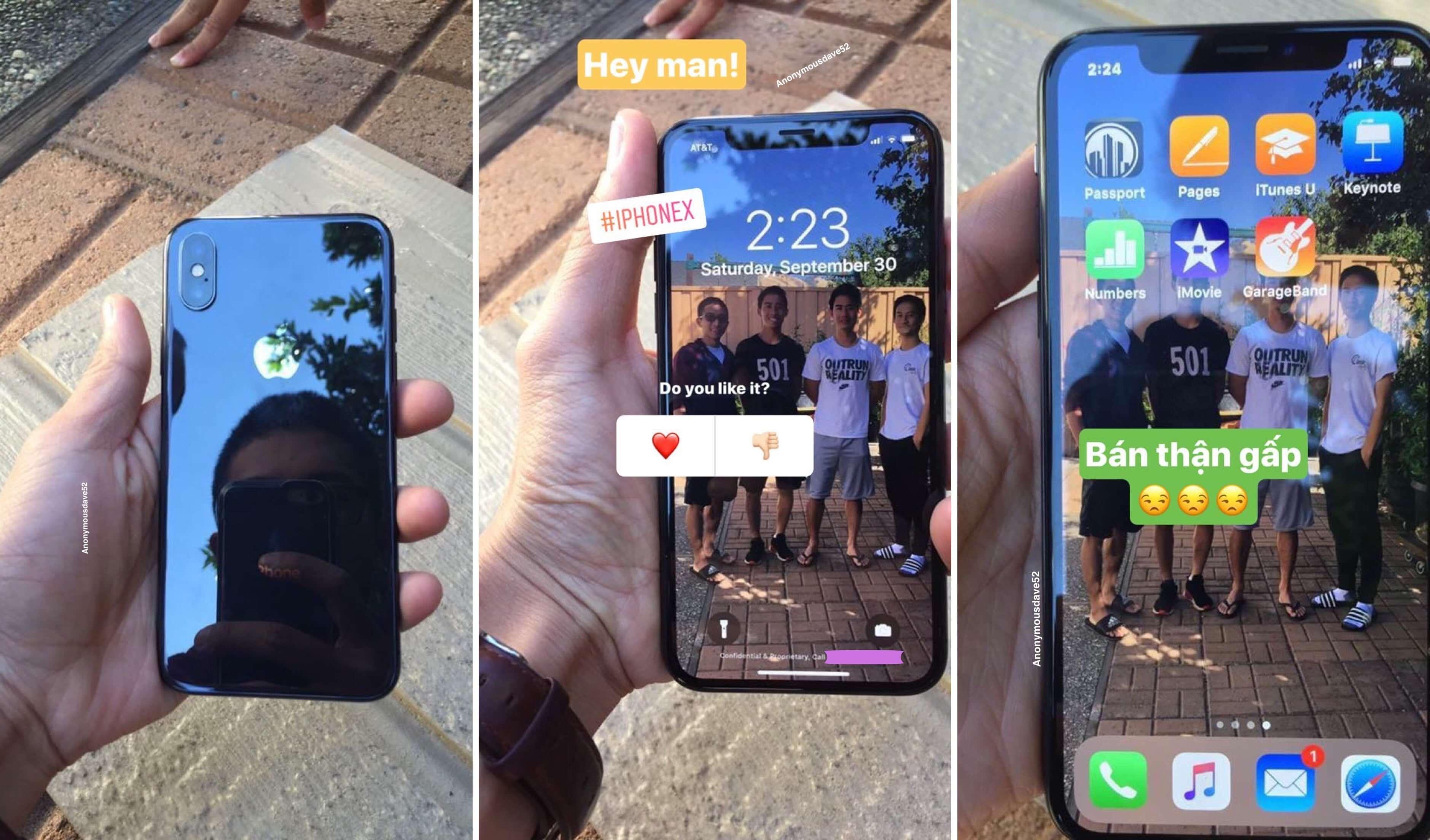 iPhone X 兩款實機提早現身網路