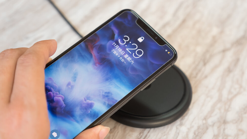 iPhone X/8系列專用無線充電座Mophie Wireless Charging Base開箱