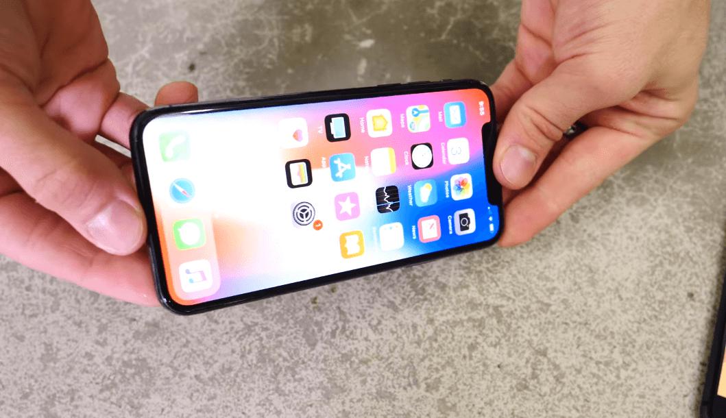 iPhone X 摔落測試報告