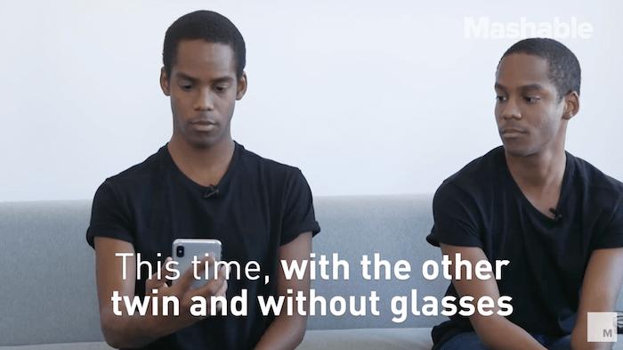 雙胞胎使用 iPhone X 的 Face ID 會不會造成問題?實際測試影片給出答案