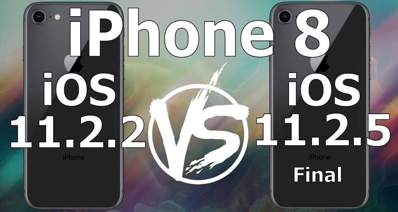 更新iOS 11.2.5 速度會更快嗎?實測iOS 11.2.2 vs 11.2.5速度