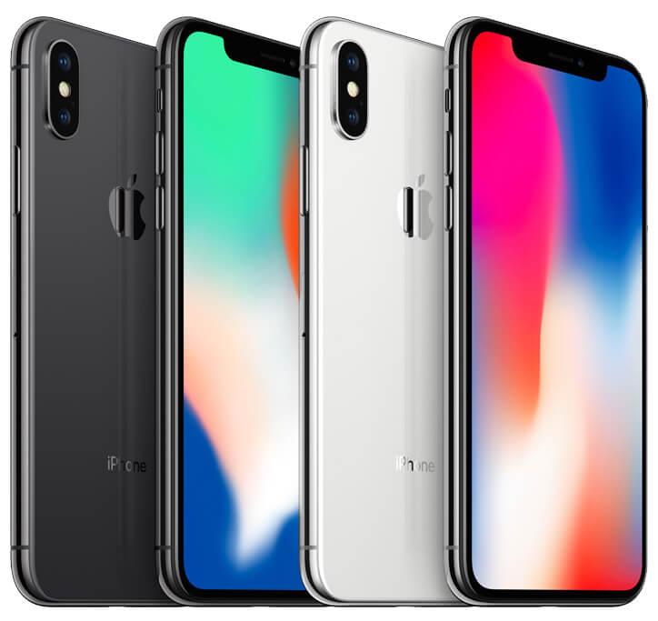 全球五大市場iPhone X在2017年12月排行前三名最熱銷手機
