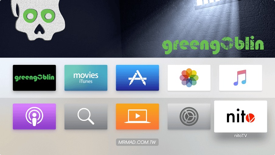 [tvOS 10.2.2越獄教學]使用greeng0blin綠惡魔越獄工具解放Apple TV4設備