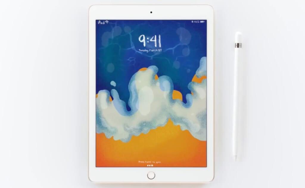 2018 新 9.7 吋 iPad 發表會上的廣告桌布圖下載(適合iPhone、iPad、Mac)