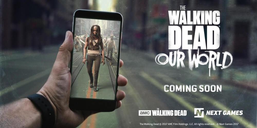 陰屍路The Walking Dead結合AR推出手遊,將於2018第二季上線