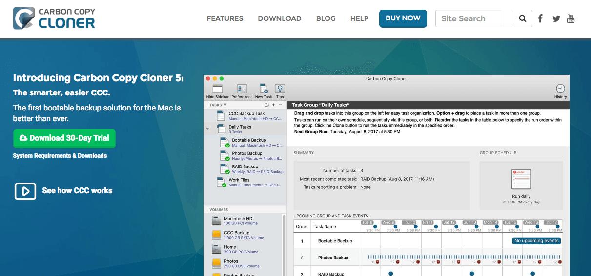 [教學]教你使用Carbon Copy Cloner替macOS系統舊硬碟轉移到新硬碟上