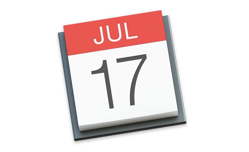 Monthlicon 讓 iOS 11 行事曆也能正常顯示月份