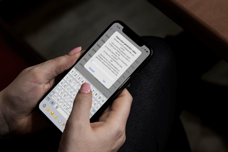 【教學】如何替 iOS 11 固定nonce(Generator值)方法,方便升降系統