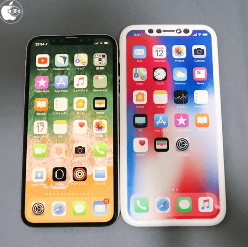 2018年3款未上市 iPhone 模型曝光!用 iPhone X 互相比較尺寸和差異