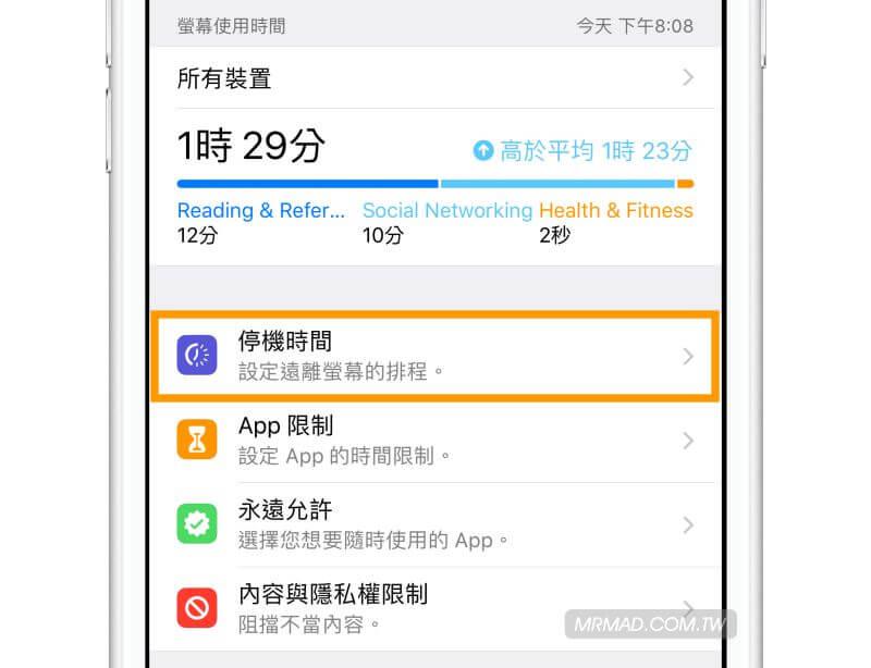 iOS 12必學知識:深入了解「螢幕使用時間」減少沈迷與使用手機時間