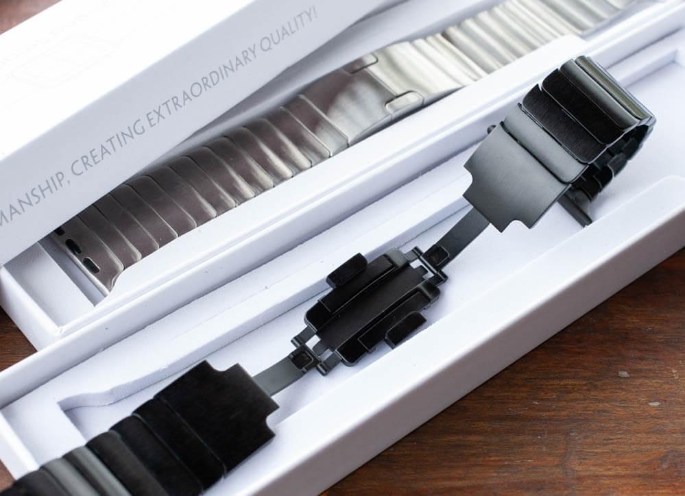 [開箱]OULUOQI Apple Watch 不鏽鋼錶帶立即提升質感與時尚等級