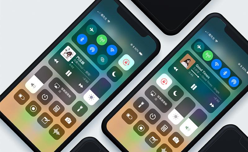 BetterCCXI將讓iOS 11控制中心帶來新世代的視覺衝擊