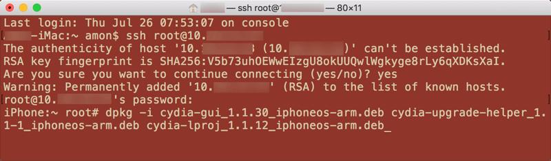 iOS 11越獄版更新 GUI Only和 Cydia Compatibility Package 造成Cydia消失閃退解決方法