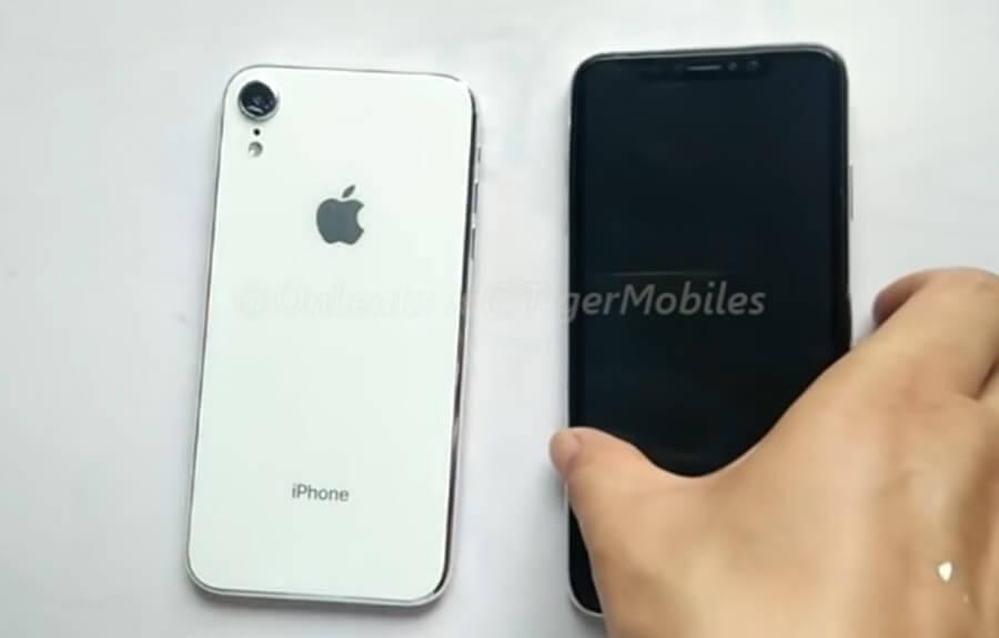 6.5吋iPhone X Plus和6.1吋 iPhone9 實體模型機影片曝光