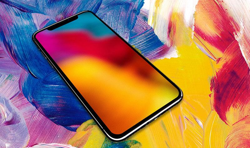七彩鮮豔 iPhone 免費桌布主題系列分享