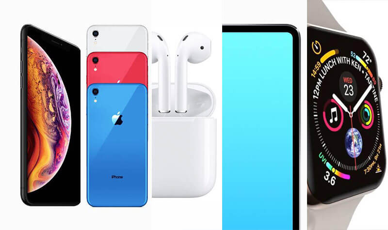 2018年蘋果秋季發表會規格謠言:iPhone XS、iPhone XC、iPad Pro、AirPods 2與Apple Watch 4