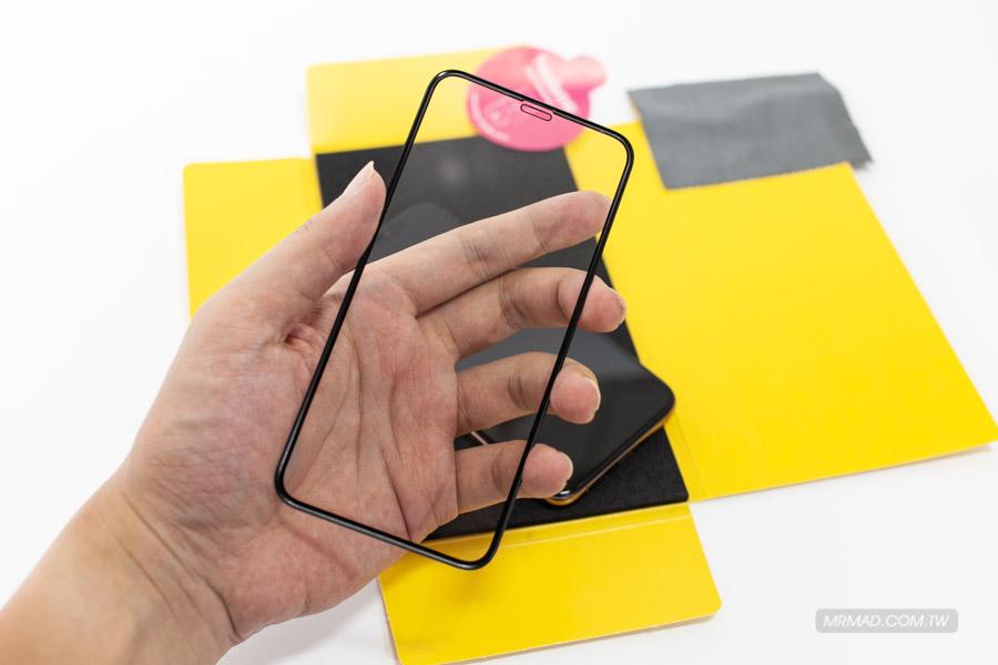 3D全曲面隱形滿版9H鋼化玻璃保護貼iPhone XS 7