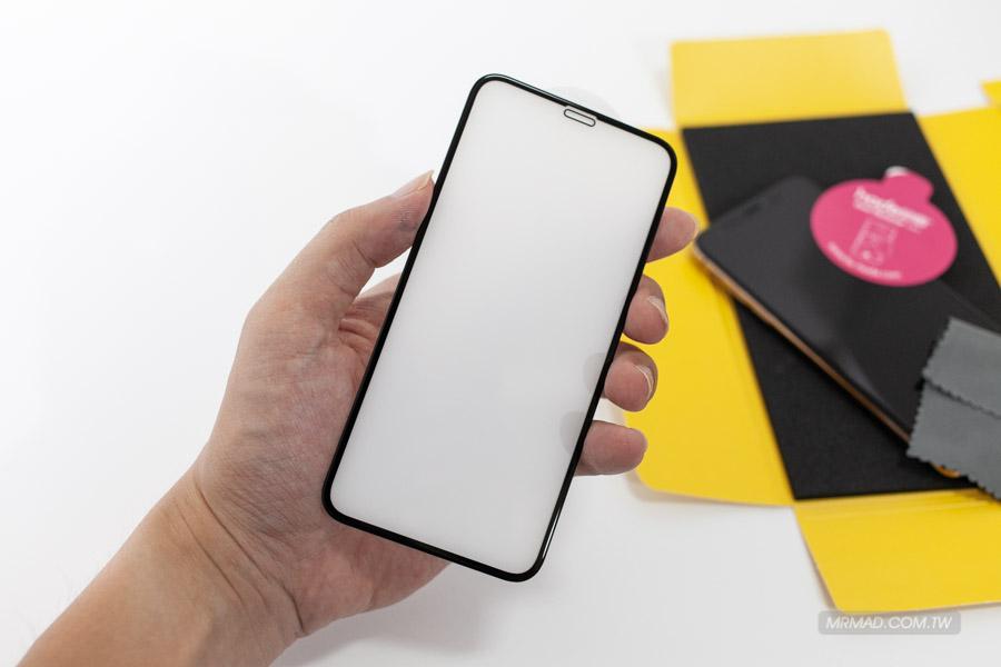 3D全曲面隱形滿版9H鋼化玻璃保護貼iPhone XS 5