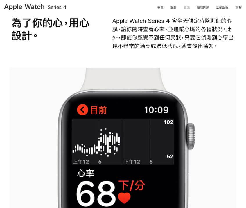 台灣想替Apple Watch Series 4 啟用心電圖(ECG)將會面臨醫療法規限制