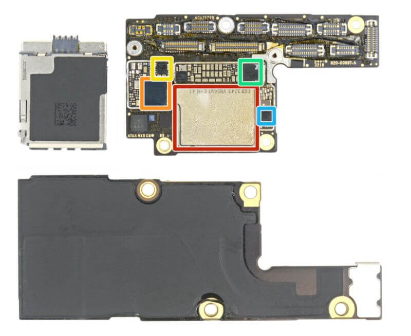 iFixit拆解iPhone XS與iPhone XS Max發現硬體不同差別全曝光