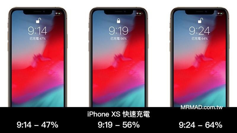 iPhone XS 快充紀錄2