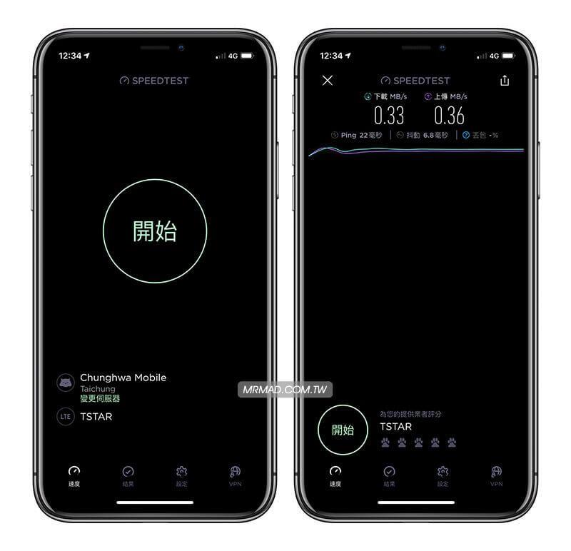 實測iPhone XS與iPhone X行動4G網路速度、收訊到底有沒有增強?