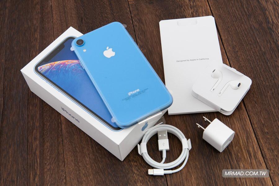 iPhone XR 藍色開箱2