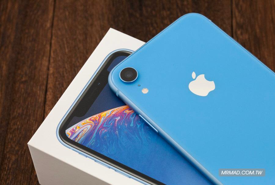 iPhone XR 藍色開箱10