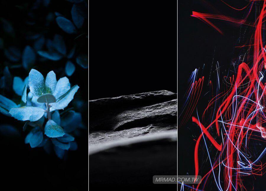[iPhone黑色桌布] 精選42張 iPhone X/XS/XS Max 高質感黑色桌布