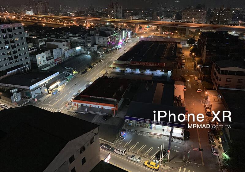 iPhone XR拍攝夜景