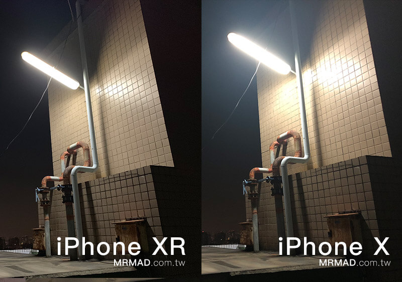 iPhone XR (智慧HDR) vs iPhone X (自動HDR)