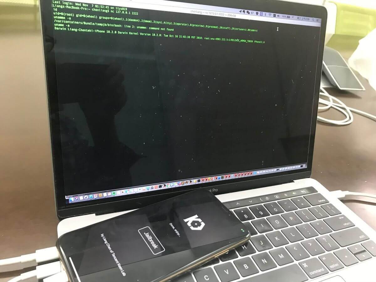 KeenLab率先替iPhone XS Max攻破防線完成iOS 12.1越獄