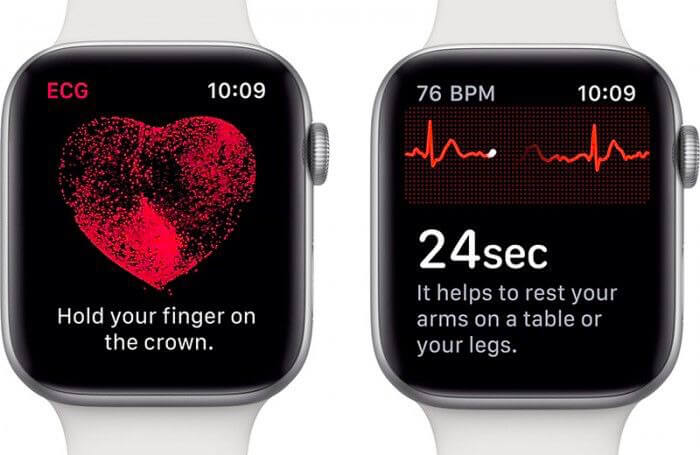 iOS 12.2 將封鎖非美國用戶 Apple Watch Series 4 啟用ECG 心電圖