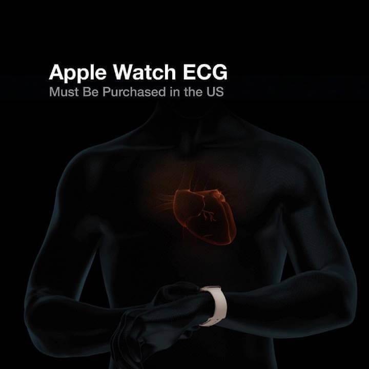 Apple Watch 心電圖 ECG 功能支援國家清單總整理