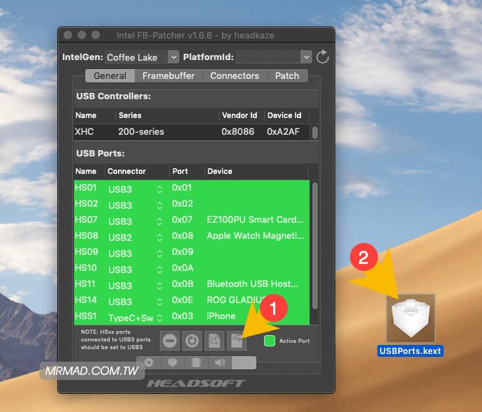 修復macOS 10 14 x 黑蘋果USB 3 0與USB 3 1 無法驅動辨識- 瘋先生