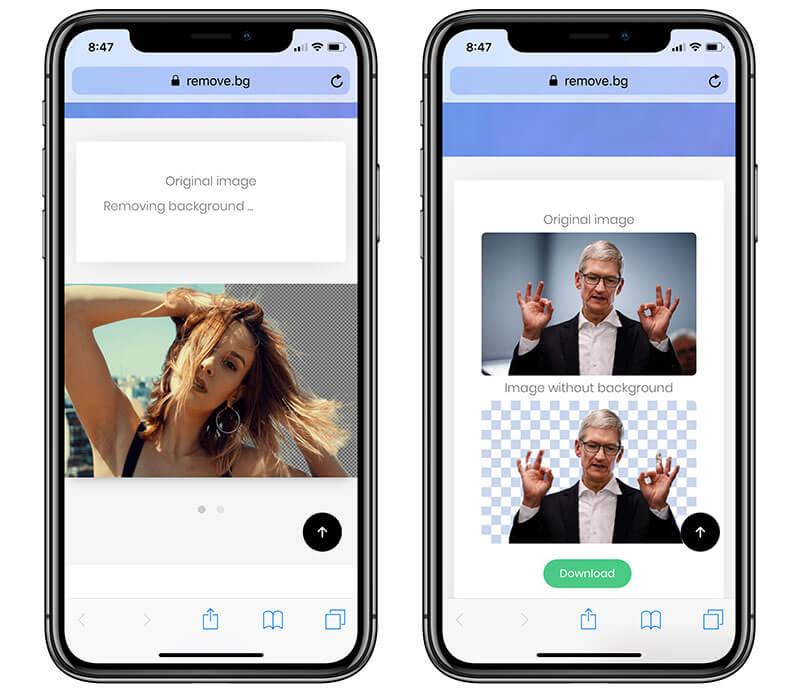 【去背教學】免Photoshop透過iPhone或Android手機也能輕鬆一鍵線上去背2