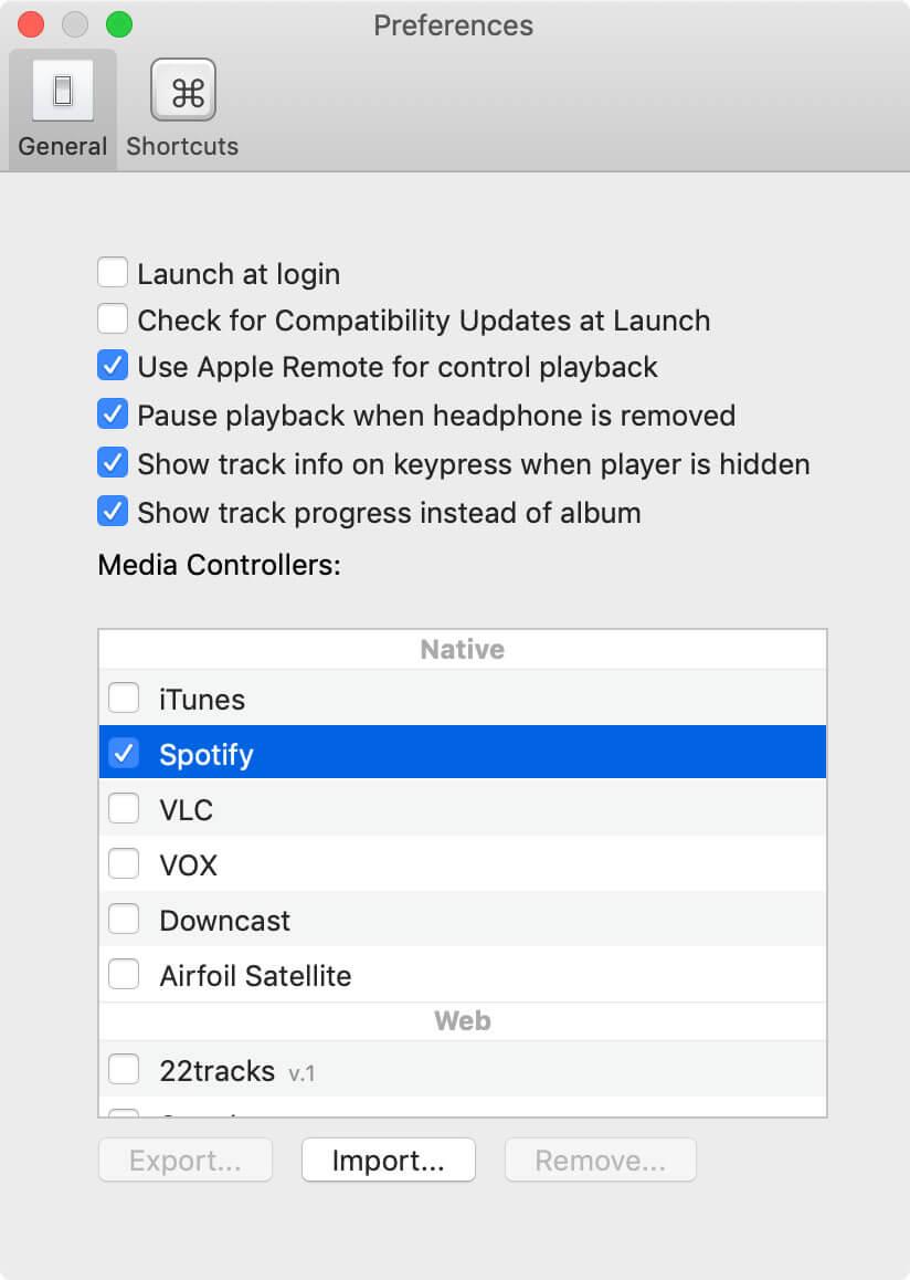 BeardedSpice讓macOS蘋果鍵盤播放鍵也能控制Spotify和Youtube