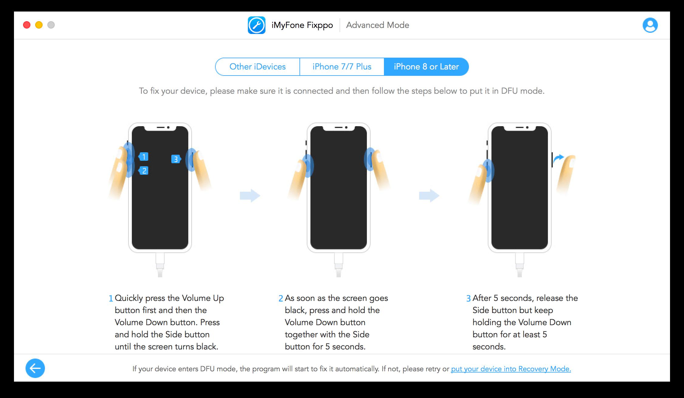 iMyFone Fixppo 修復iOS教學11